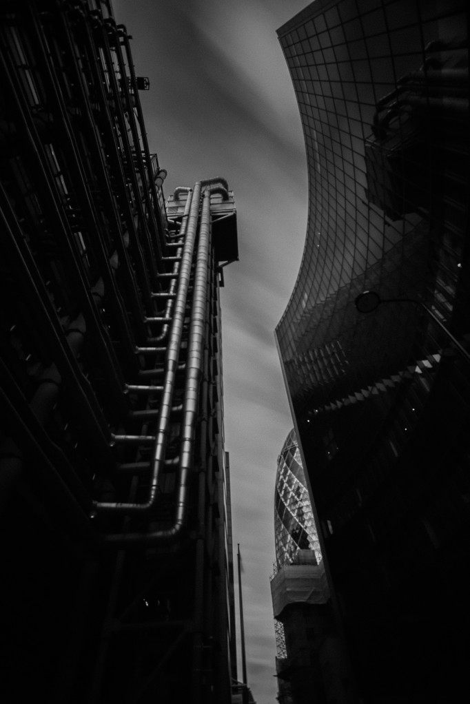 Lloyds, Willis and the Gherkin Buildings