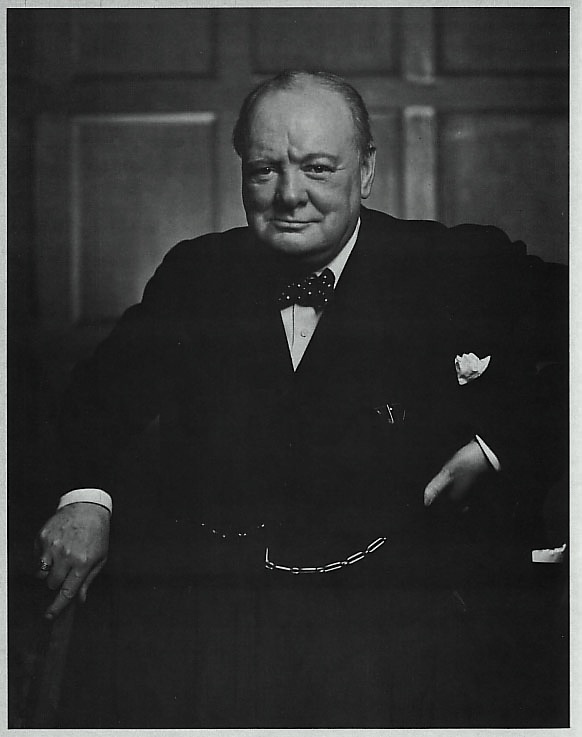 Yousuf karsh - Churchill
