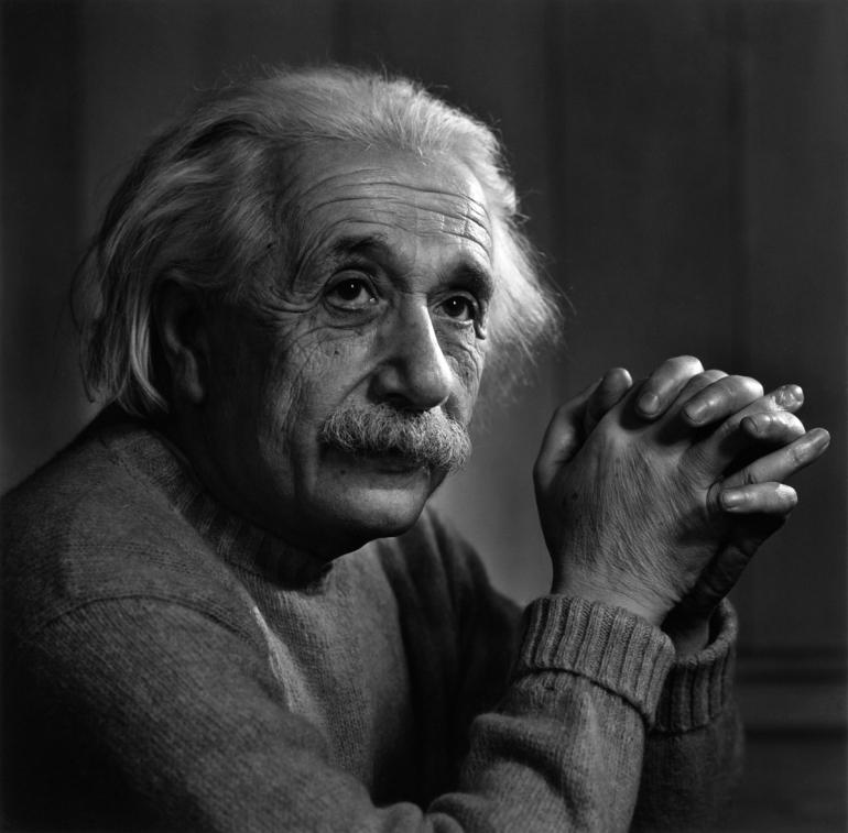 Yousuf Karsh - Einstein