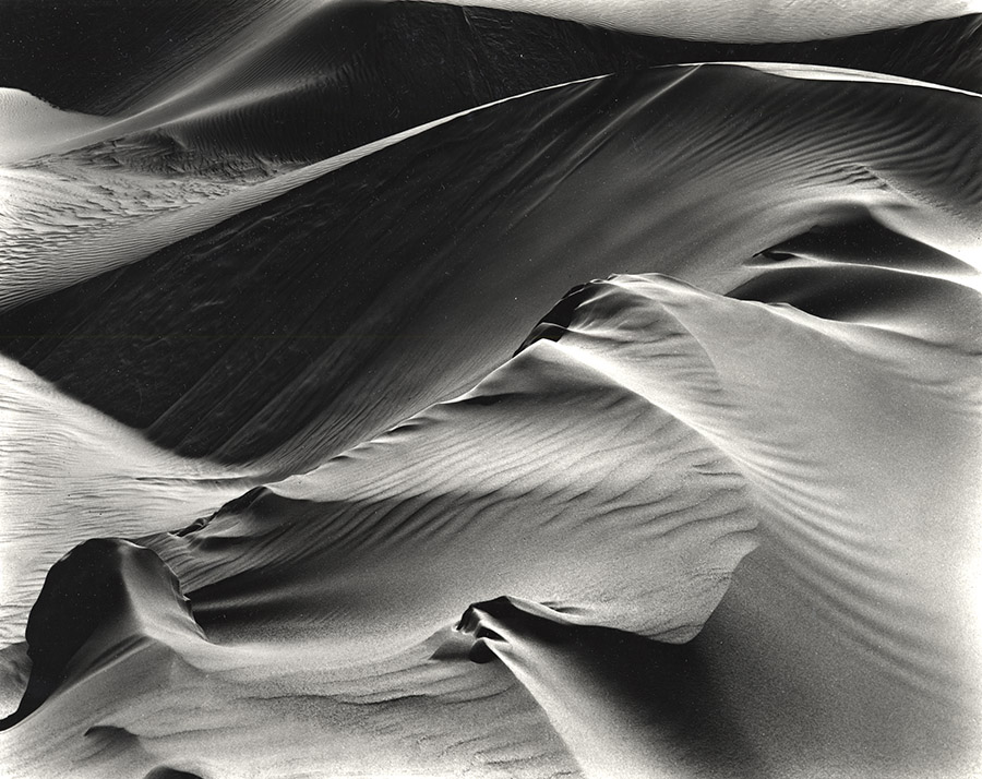 Dunes-1946-printed 1975 by Brett Weston
