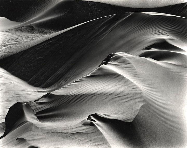 Dunes-1946-printed 1975 by Brett Weston