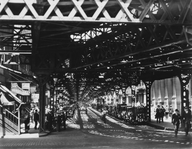 New York by Berenice Abbott