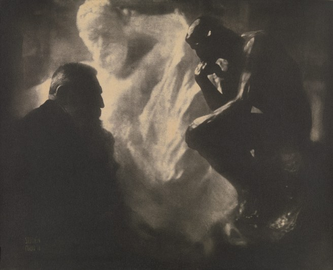 Working Title/Artist: Edward Steichen: Rodin—The ThinkerDepartment: PhotographsCulture/Period/Location: HB/TOA Date Code: Working Date:  photography by mma, Digital File  retouched by film and media (jnc) 11_18_10