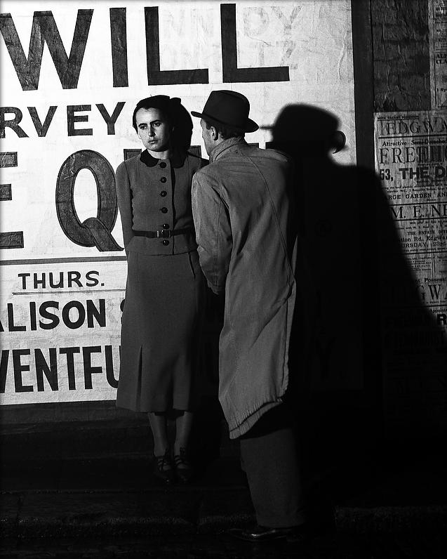 Couple in Peckham, June 1936