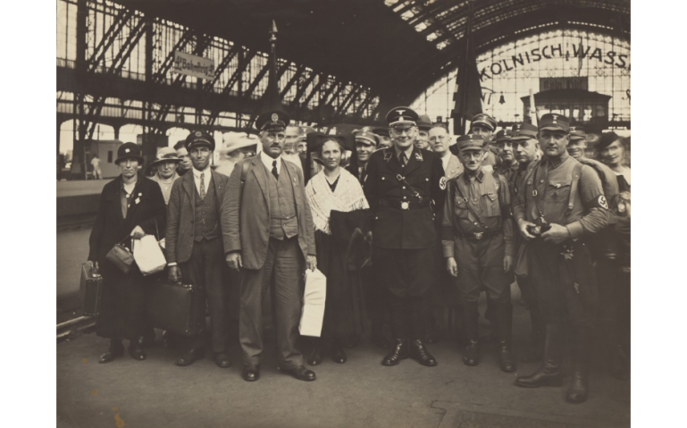 National Socialists, Cologne Central Train Station