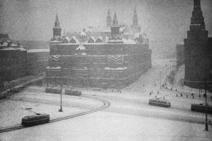1960. MOSCOU. Place Rouge.