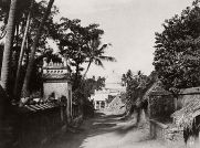 Linnaeus Tripe (British, Devonport (Plymouth Dock) 1822–1902 Devonport) Trichinopoly. Musjid of Nutter Owleah, from the head of the lane leading to it., 1858 Salted paper print; image: 27.2 × 36.6 cm (10 11/16 × 14 7/16 in.) mount: 45.2 × 57.4 cm (17 13/16 × 22 5/8 in.) The Metropolitan Museum of Art, New York, (LT.VA.1) http://www.metmuseum.org/Collections/search-the-collections/643432