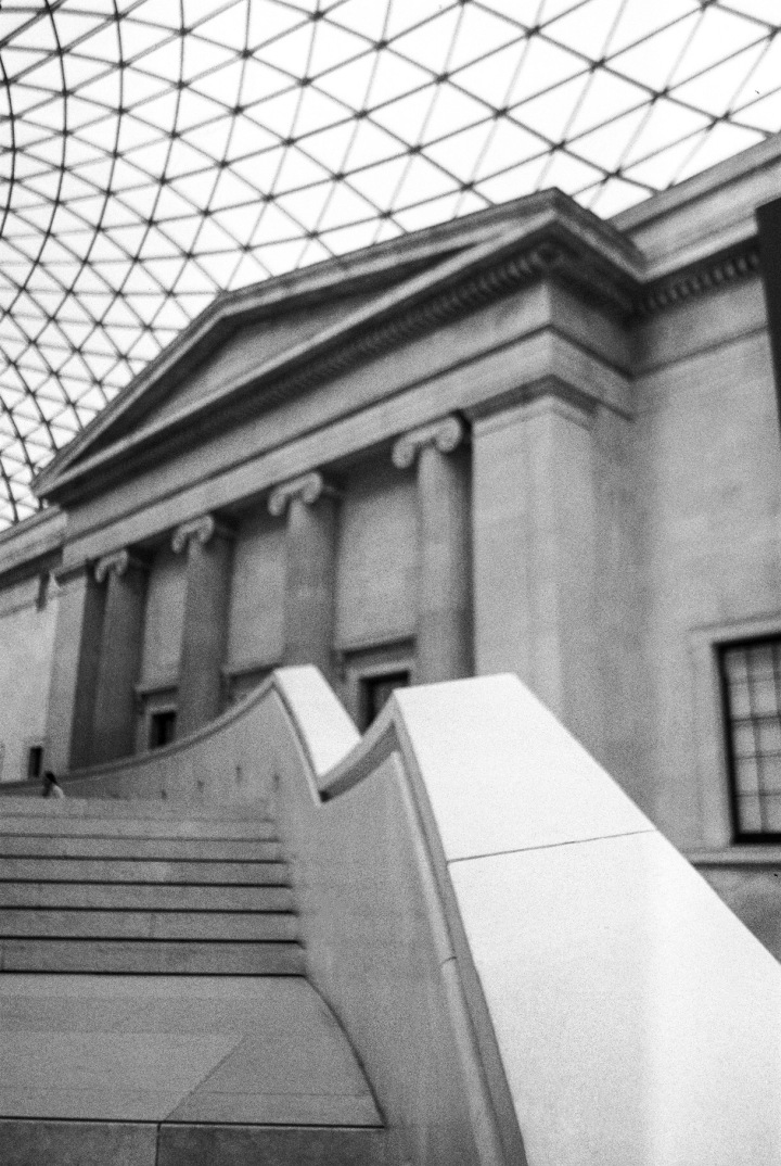 Film rolls – British museum London